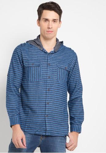 Lois Jeans blue Stripes Shirt LO391AA0U4QCID_1