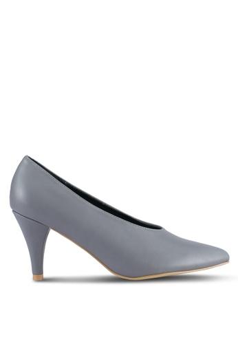 Nose grey Pointed Heel Pumps NO327SH0SJ1TMY_1