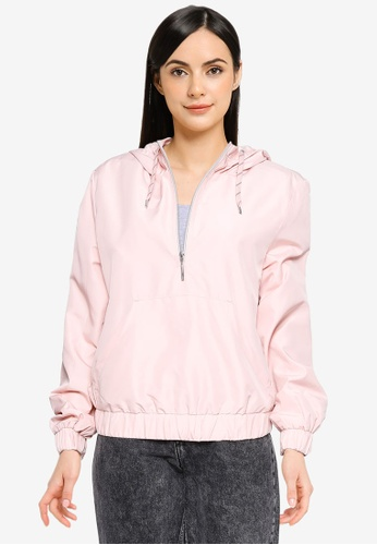 ONLY pink Louisa Anorak Jacket A6C14AA90E959EGS_1