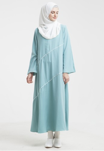 Jual Allev Naifa Dress Hijau Mint Original Zalora Indonesia