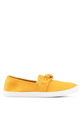 Rubi 黃色 Belle 蝴蝶結懶人鞋 2E580SH872ACF4GS_1