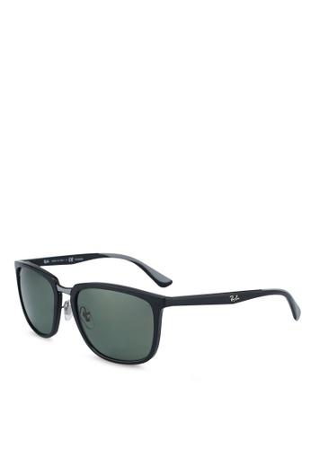 Ray-Ban black RB4303 Sunglasses DD4E0GL73370D3GS_1