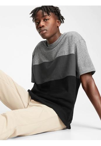Gap grey Logo Colorblock T-Shirt 636FEAAF5A3C39GS_1