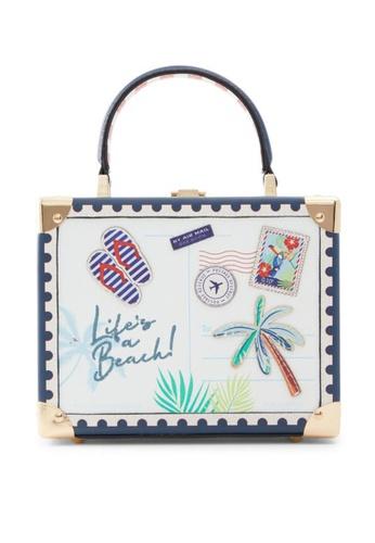 ALDO white Aseavia Top-Handle Bag 37E5DAC4359E34GS_1
