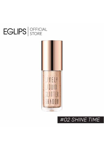 Eglips EGLIPS LIVELY LIQUID GLITTER SHADOW - 02 SHINE TIME 2D543BE455E67FGS_1