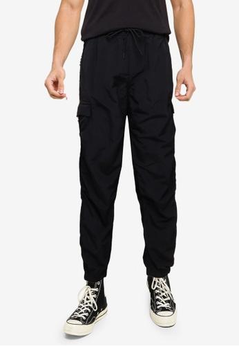 Timberland black CNY Nylon Ripstop Joggers 8F489AA451B465GS_1