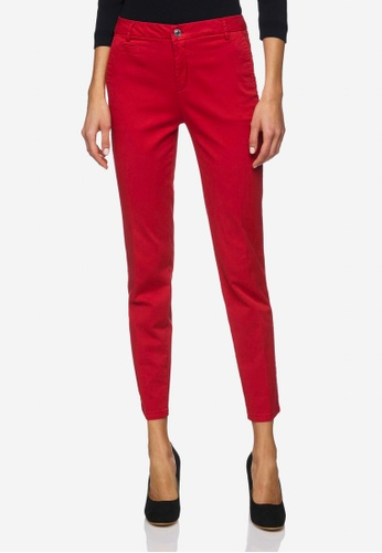 United Colors of Benetton red Slim Fit Chinos 05189AAB735135GS_1
