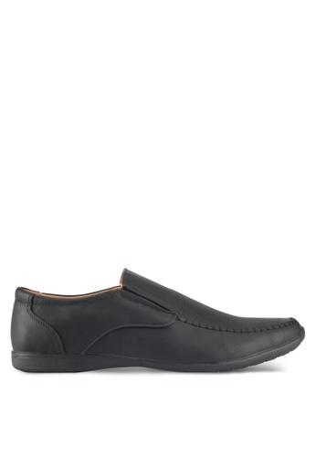 Rocklander black Loafer Shoes 76369SH89828CCGS_1
