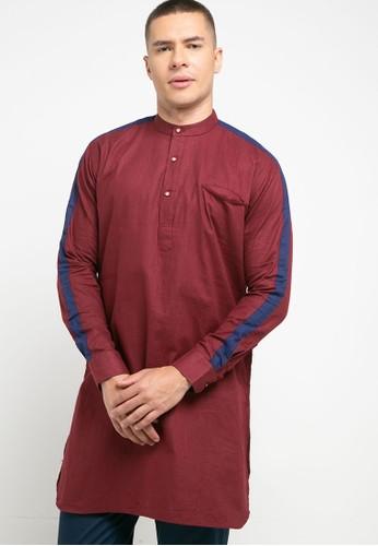 Introspect clothing red Kemeja Koko FF0C9AA4F74A91GS_1