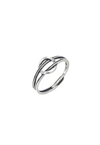 LYCKA silver LPP9023 Minimal Belt-like Ring 45720ACE15682DGS_1
