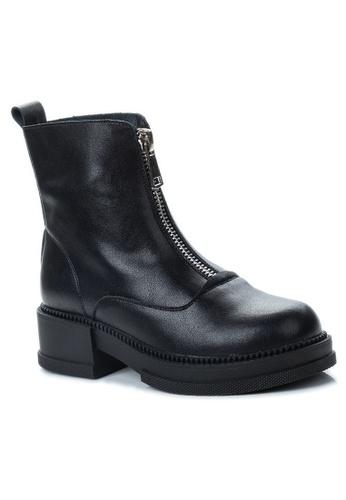 Twenty Eight Shoes Vintage Leather Zipper Boot CB9307 A70D8SHBAF631AGS_1