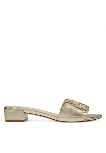 Nine West gold NWRAINESE Slide Sandals 64636SHC4D7537GS_1
