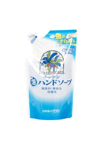 SARAYA SARAYA Yashinomi Kitchen Foam Hand Soap (Refill) 220ml (SRY-320323) 47E26BEB4837FAGS_1