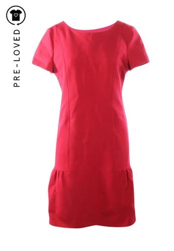 Alberta Ferretti red Pre-Loved alberta ferretti Red Flare Dress 18F5BAA4087303GS_1