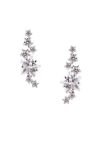 The LoveMark silver Falling Star Silver Earrings TH516AC78VRTPH_1