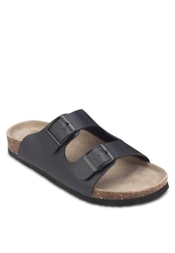 雙扣環拖鞋, 女鞋, 懶人esprit outlet 家樂福鞋