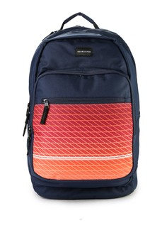 Quiksilver navy Schoolie Special Backpack B9347AC12D2A31GS_1