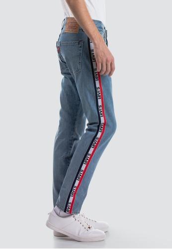 9ffe7bb9 Buy Levi's Levi's 501® Taper Sports Stripe Jeans Online on ZALORA Singapore