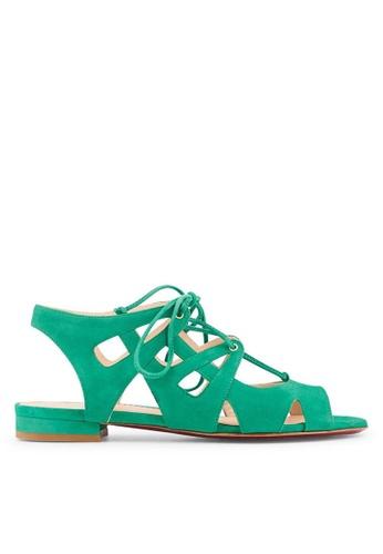 Minelli green MIATTRACTION Sandals MI352SH69MFASG_1