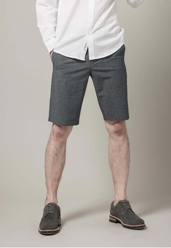 H:CONNECT blue Bermuda Chinos Shorts 27D50AAC28527FGS_1