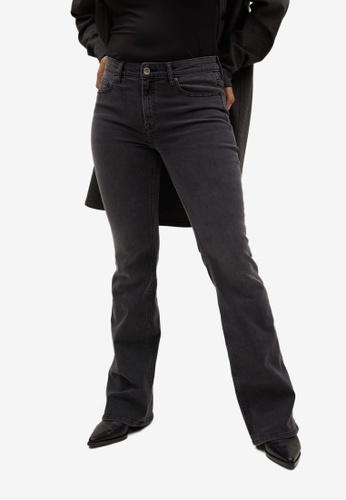 Violeta by MANGO grey Plus Size Bootcut Zendaya Jeans 697EFAAB80D2BBGS_1