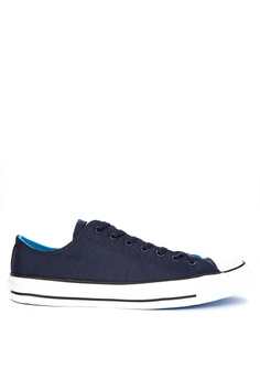 3856769340a1 Converse navy Chuck Taylor All Stars Lightweight Nylon Sneakers  3D7FDSH528938AGS 1