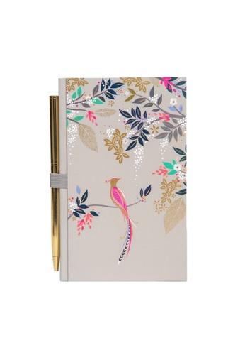 Sara Miller grey Sara Miller - Notebook & Pen - Birds of Paradise (SMIL4535) 89C9BHLFF85B06GS_1