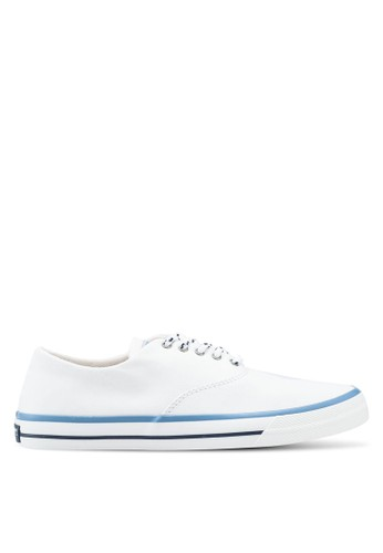 Sperry white Captain's Cvo Nautical Sneakers SP132SH0SXB3MY_1