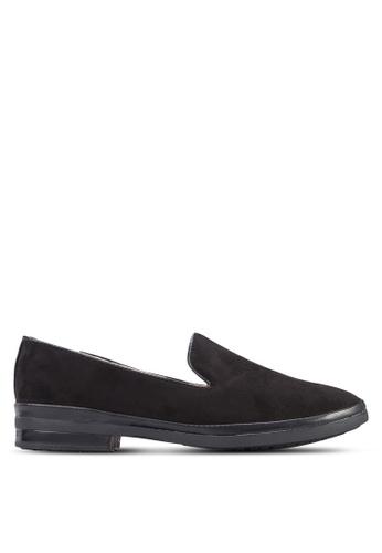 Noveni black Casual Flats NO978SH78UZTMY_1