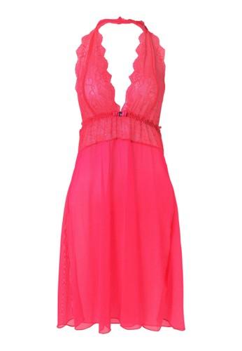Valentine Secret pink Keira Halter Slip VA590US32YKPID_1