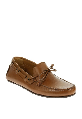 Sebago brown Tirso Tie Driving Shoes 745FBSH8D9B4FBGS_1