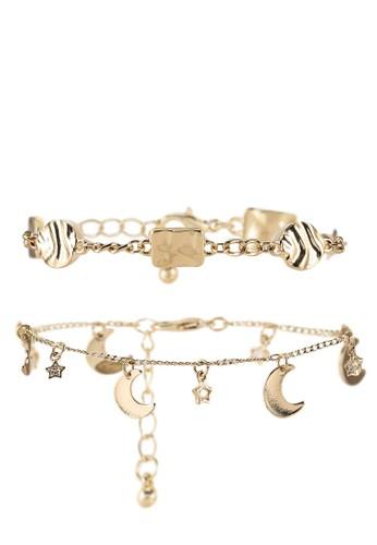 Pieces gold Damendi 2-pack Bracelet D2d 85CBAACA6C88E3GS_1