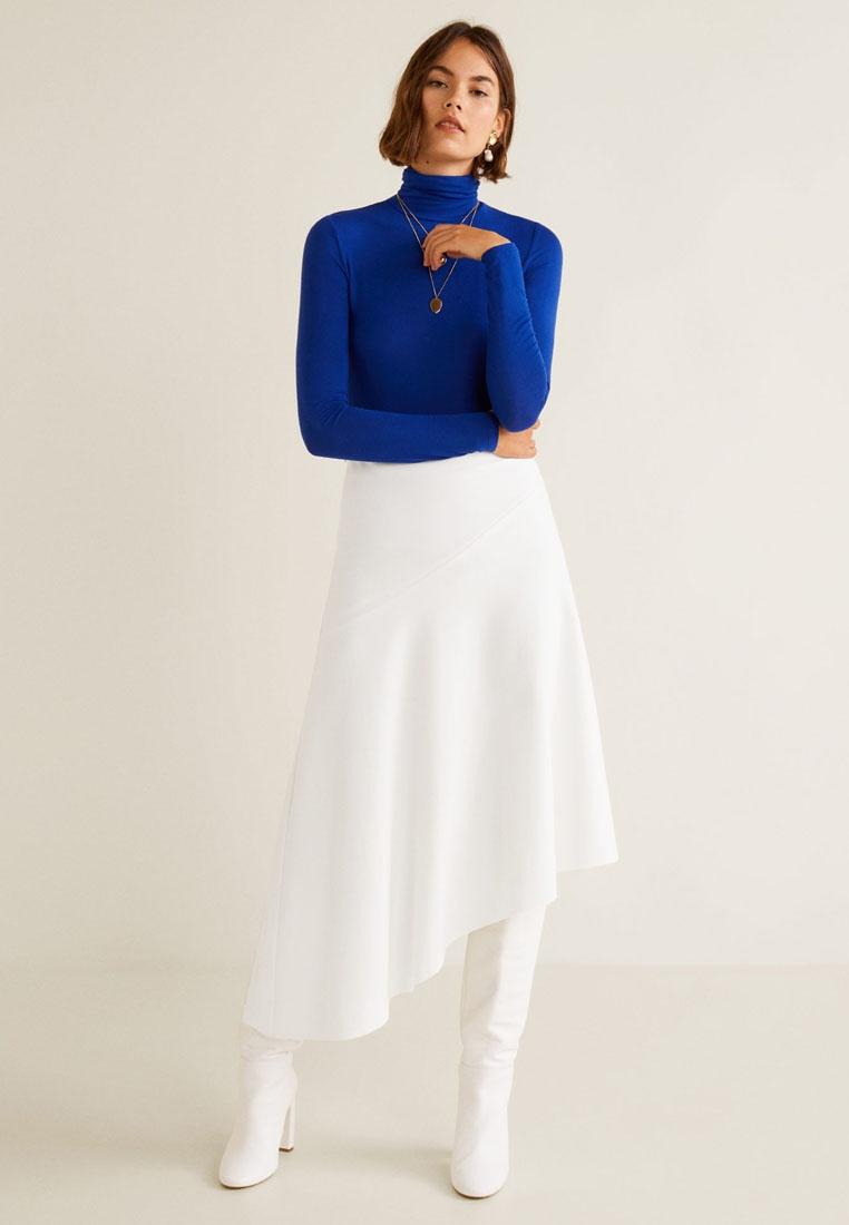 75181cf864 Fluted Hem Natural Mango White Skirt F4nFxH-klausecares.com