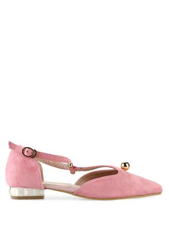 Mandy's pink Mandy's Pearlys Pink Flats MA947SH36CSTID_1