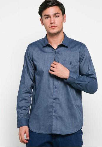 Breeze Industries blue chambray shirt ellard blue jeans 4B0E0AAFF9771CGS_1
