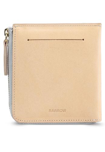 Rawrow beige Zip 190 Wallet FB656AC06F9071GS_1
