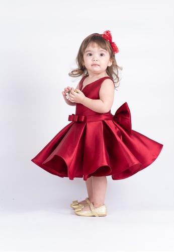 LASSIE & LADDIE red Audrey Red Occasion Dress 6337BKA561DB86GS_1