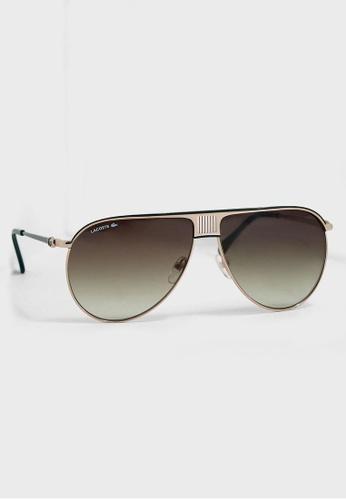 Lacoste black Men's Metal Fashion Show Mainstream Sunglasses C0D70GL55963ABGS_1
