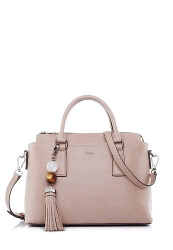 BONIA pink Blush Pink Betsy Satchel XL E7305AC3C01DD4GS_1