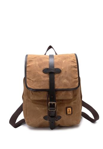 Buy DUSTY Dusty Waterproof Canvas Backpack Online on ZALORA Singapore 599fcdf95e453