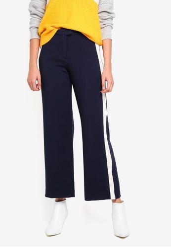 ESPRIT navy Denim Length Service Pants 16BF6AA83DCB39GS_1