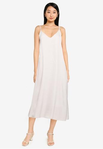 GLOBAL WORK beige Cami Dress 2D9B7AA9111964GS_1