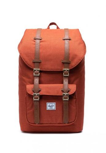 Herschel red Little America Backpack 3D137AC7F070C6GS_1
