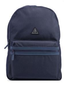 Jack Wills navy Thurso Backpack 8E863AC123C6F7GS 1 96b4ae057f18e