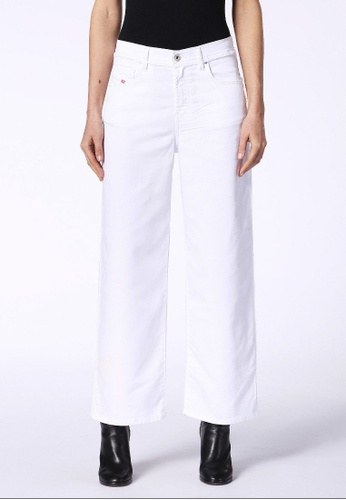 Diesel white Widee-Ne-F Wide-Leg Fit Jeans 147E1AA32665B5GS_1