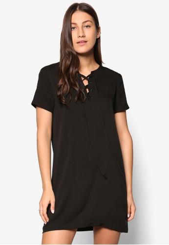 Collection 繫帶直筒式洋esprit 見工裝, 服飾, 夏日洋裝