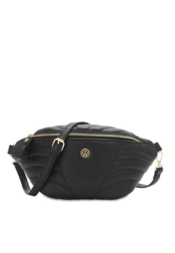 Volkswagen black Women's Sling Bag / Chest Bag 83707ACA2B3E31GS_1