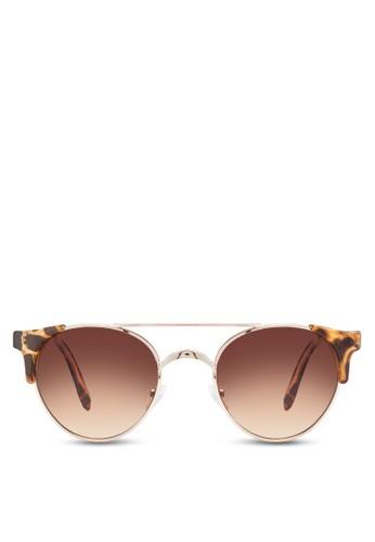 CLAY 金屬esprit hk鏡橋太陽眼鏡, 飾品配件, 飾品配件
