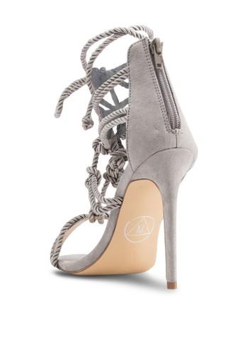 編繩多esprit官網帶羅馬高跟涼鞋, 女鞋, 鞋