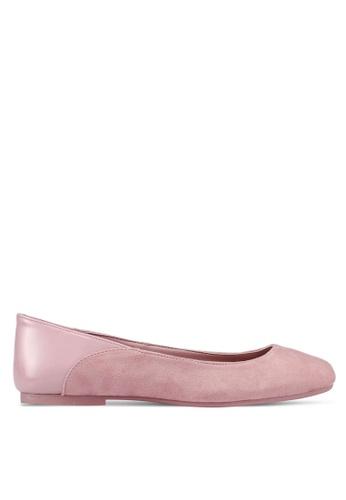 Call It Spring 粉紅色 Altrade Ballerina Flats 881B9SH8A4DE39GS_1